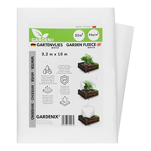 GARDENIX® 32 m² Vellón de protección contra Congelación
