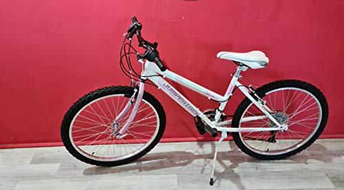 CINZIA Bici Bicicletta MTB Donna 24'' Snake Shimano 18V