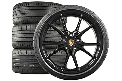 Compatible con Porsche 718 Boxster/Cayman 982 20' Carrera S Verano Wheels Black