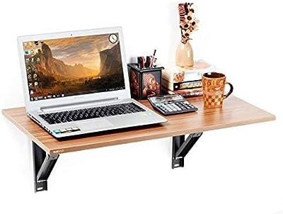 BLUEWUD Engineered Wood Office Desk; Study Desk(Walnut Finish,Walnut)