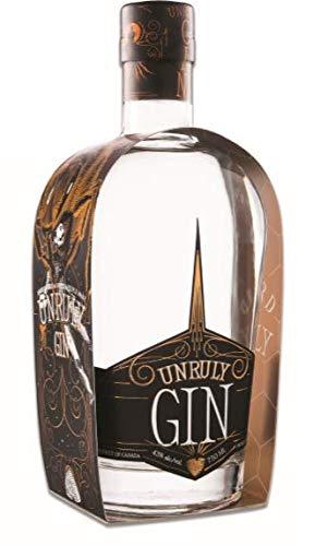 Wayward Unruly Gin 70 cl, Erfrischender kanadischer Gin, hergestellt aus biologischen und regionalen Pflanzenstoffen und Honig aus Vancouver Island, BC Kanada, 1 Flasche