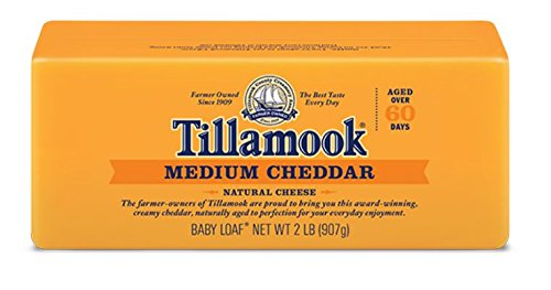Tillamook Cheese 2lb Baby Loaf (Choose Flavor Below) (Medium Cheddar)