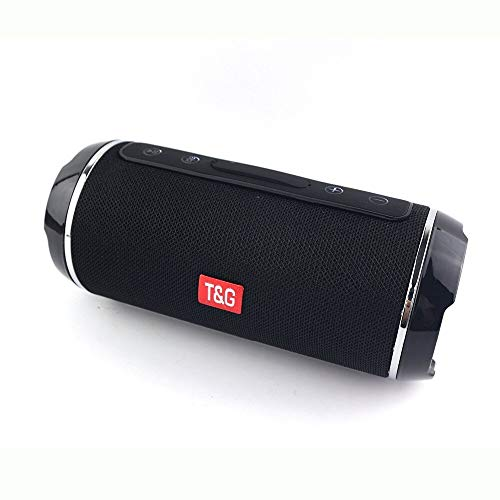 Digitalkey TG116 - Altavoz inalámbrico Bluetooth portátil y antisalpicaduras, color negro