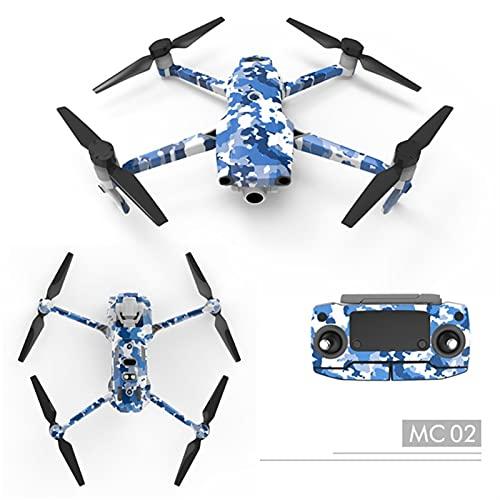 zzzdxqeyy Adesivi 3M della Pelle del Corpo del Drone compatibili con DJI. Mavic 2 PRO Zoom Decalcomanie Discals Autoadesivo Autoadesivo Adesivo Drone Accessori ad Alto Valore ( Color : Option 2 )