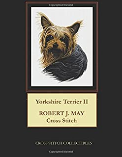 Yorkshire Terrier II: Robt. J. May Cross Stitch Pattern