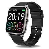 JXILY Smart Watch, Fitness Trackers mit Schritt Kalorienzähler Schlaf-Monitor Activity Tracker,...