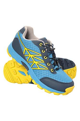 Mountain Warehouse Zapatillas de Running Hercules para niños - Ligeras, Acolchado EVA, Entresuela Phylon y Malla Superior sintética - para Deportes, Viajes y Exteriores