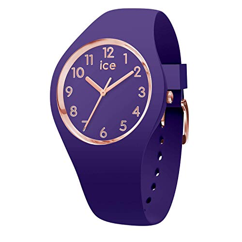 Ice-Watch - ICE glam colour Violet - Women's wristwatch with silicon strap - 015695 (Small)