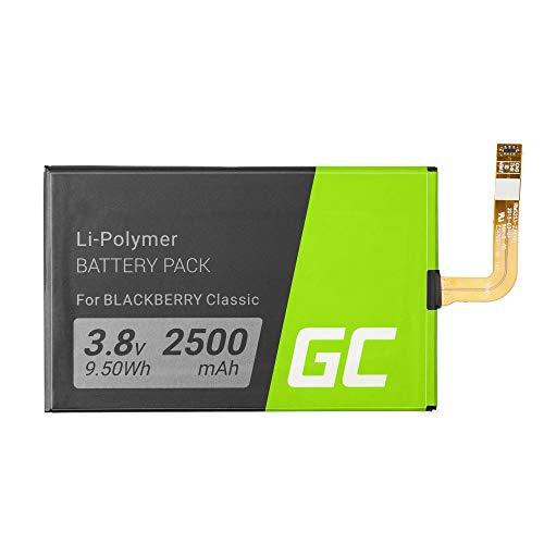Batería Interna de Repuesto Green Cell BPCLS00001B Compatible con Blackberry Classic Q20...