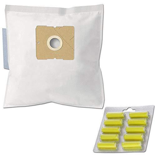 PRODUCT2SELL 10 perfumes + 10 bolsas para aspiradora compatibles con Nilfisk Alto Action Plus Parquet; ONE BGB10E05A2 EU