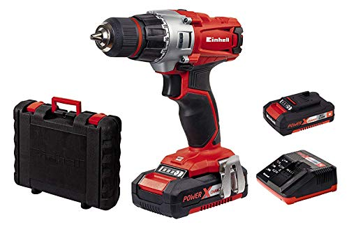 Einhell Expert Taladro Power X-Change (TE-CD 18/2 Li), 18V s