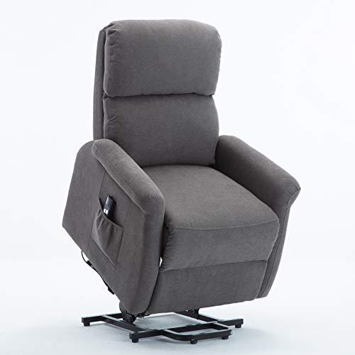 Bonzy Home Fabric Power Lift Recliner Chair