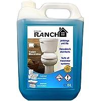 Limpiador de inodoro Bomba trituradora descalcificador Ranch gama 1x 5litros botella