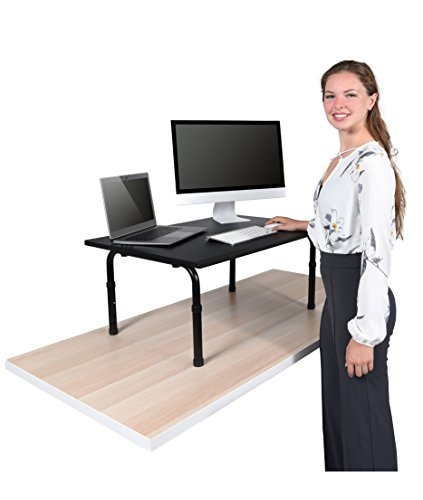 Desktop Standing Desk Converter - Ergonomic Desk Converter Riser Stand for Sit-to-Stand Work (32')