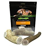 Deluxe Naturals Elk Antler For Dogs, 1 lb Pack for Medium to Large Dogs, Premium, Naturally Shed Elk Antler Dog Chews