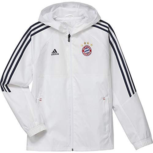adidas Kinder Fc Bayern München Regenjacke, White/Conavy, 176