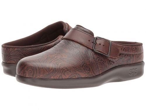 SAS(サス) レディース 女性用 シューズ 靴 クロッグ ミュール Clog – Cowboy Floral 6.5 W – Wide (C) [並行輸入品]