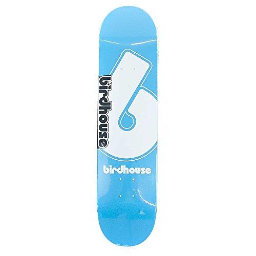 Birdhouse Skateboards USA Vogelhaus 'Giant B' Logo Deck, Blau