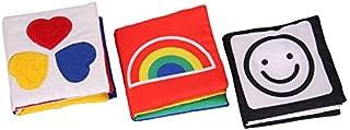 My first set of visual development little cloth book newborn baby cloth book