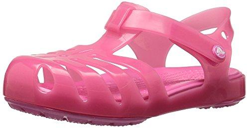 Crocs Girls' Isabella Sandal Preschool Flat, paradise pink, 8 M US Toddler