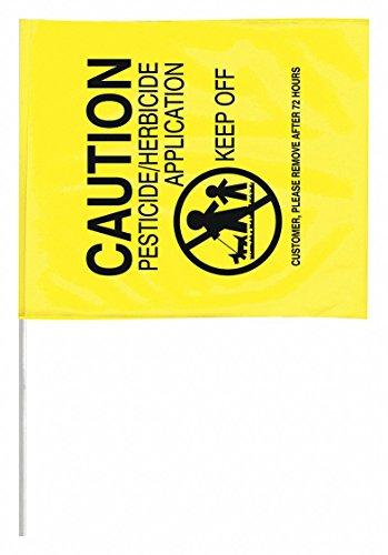 Marking Flag, Yellow, Pesticide, PVC, PK50