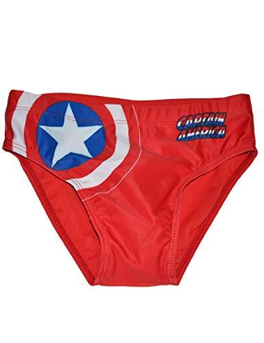 Captain America, Badehose SE1789 Gr. 6 Jahre, rot
