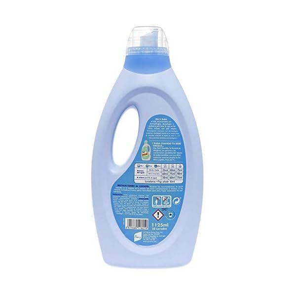 Norit Bebé – Detergente Líquido especial para Bebé y Pieles Atópicas – 6 botellas de 1125ml