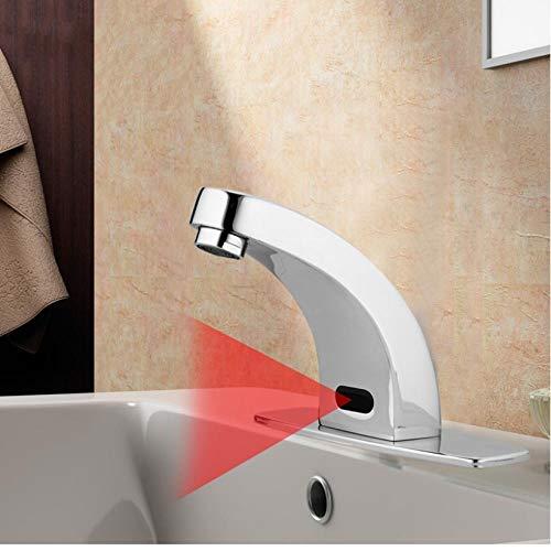 Zglizty Grifos Automáticos Con Sensor Táctil Manual Ahorro De Agua Grifos Eléctricos...
