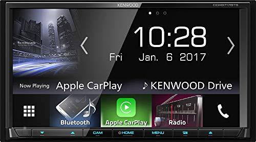 Kenwood Electronics DDX9717BTS Schwarz Bluetooth - Auto Media-Receiver (Schwarz, 2 DIN, 4.0 Kanäle, 50 W, CD-DA,CD-R,CD-RW,DVD+R,DVD+RW,DVD-R,DVD-RW, SD)