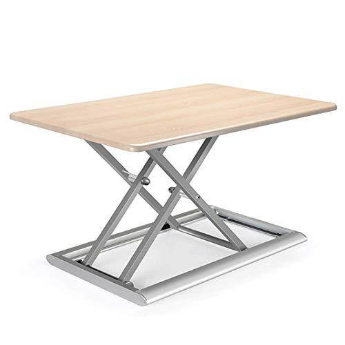 HEWEI In hoogte verstelbaar staand bureau 76,5 cm * 56 cm Platform Riser Converter staand bureau ergonomisch ontwerp Office Tafelblad Computer Workstation voor laptops