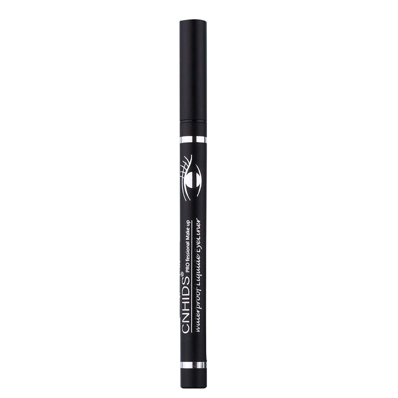 問い合わせ値するスマッシュ新しい防水美容メイク化粧品アイライナーペンシルブラックリキッドアイライナーペン