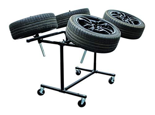 Power-Tec 92417 Deluxe Heavy Duty Alloy Wheel Painting Stand