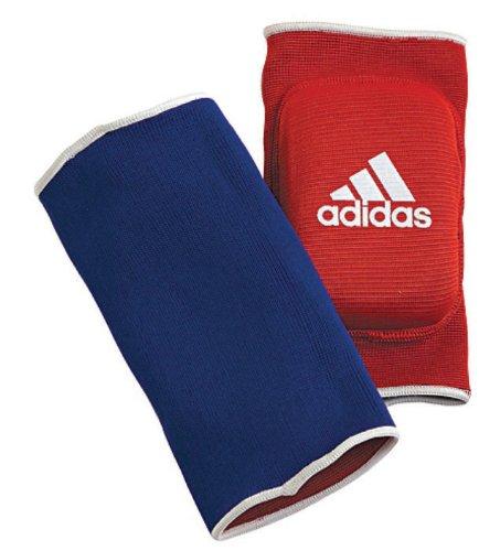 Adidas Wende \'Padded\' Ellenbogenschoner–Rot/Blau–One Size