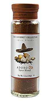 The Gourmet Collection Seasoning & Spice Blends Adobo Ole Spice Blend  Cooking Seasoning for Spanish Mexican Tacos Rice Pork Chicken 156 Servings