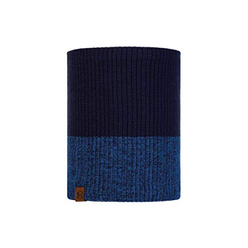 Buff 120830.779.10.00 Knitted & Polar NECKWARMER Unisex-Adult, Dima Night Blue, Taille Unique