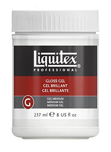 Liquitex - Medium - Gel brillante de 237 ml, transparente