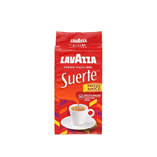 Lavazza Suerte Pienaroma Caffè - Pacco da 5 x 250 g
