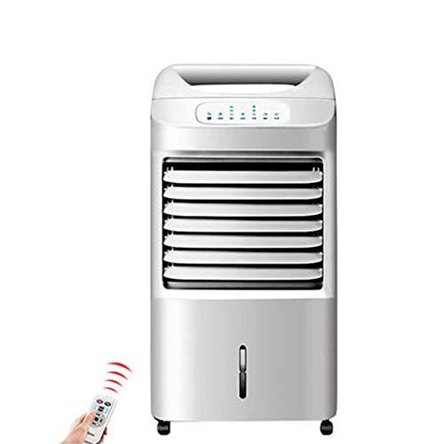 Air-conditioning fan Klimaanlagen-Ventilator for Kühlung Und Heizung, 90 ° Luftversorgung/Reinigung Und Befeuchtung / 7H Timer Tragbares AC-Einheit, Mit 5L Großen Kapazitäts-Wassertank, Mieten