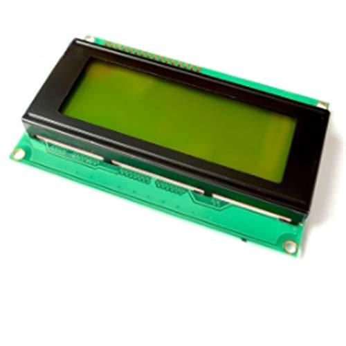 Czyu. LCD-Modul 16x2 IIC / I2C LCD-Display-Bildschirm Fit für Arduino, 1602A 2004A-Zeichen LCD-Blaue grüne Bildschirm Blacklight 5V Fit für Mega2560 (Color : 2004A Yellow Green)