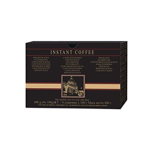 Bekömmlicher, gefriergetrockneter Instantkaffee von Amway aus 100 % Arabica. 4 Packungen zu je 100 g einzeln folienverschweißt