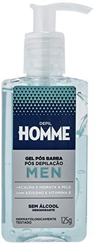 Gel Pós Barba e Pós Depilação Masculino 125g, Depil Homme