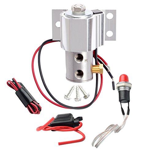 SYKRSS Line lock brake lock roll control electric kit Hill Holder Silver