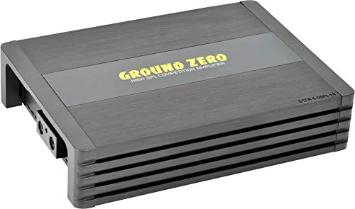 Ground Zero GZCA 5.0SPL-M1 - Class-D   5600 Watt RMS an 1 Ohm   Monoblock