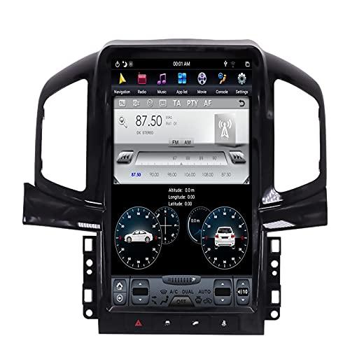 ZWNAV Vertical Tesla Screen DSP Carplay Android 9 Lettore Video per 2013 2014 2015 2016 2017 Chevrolet Captiva GPS Navigation Head Unit Auto Audio Stereo Radio ricevitore (4G RAM 128G ROM Carplay)
