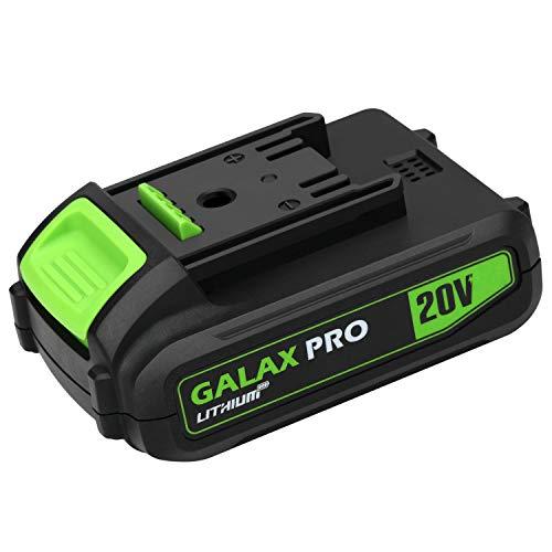 GALAX PRO 1.3A Baterías Paquete de batería de iones de litio GALAX PRO 20V MAX 1.3Ah, batería de repuesto para taladro inalámbrico GALAX PRO y herramientas eléctricas