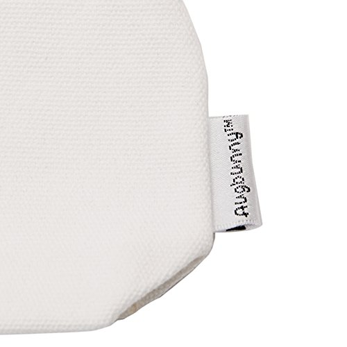 Augbunny Multi-Purpose 100% Cotton 12oz Canvas Zipper Pen Pencil Stationery Case Bag Cosmetic Makeup Pouch 6-Pack Photo #3