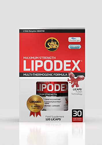 All Stars Lipodex - Licaps à 830 mg, 120 Liqaps, 1er Pack (1 x 99 g)