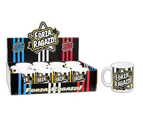 GESCO Set 12 Tazze Forza Ragazzi 10X8 1/12/24