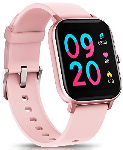 NAIXUES Smartwatch, Reloj Inteligente Impermeable IP67 Reloj Deportivo 1.4