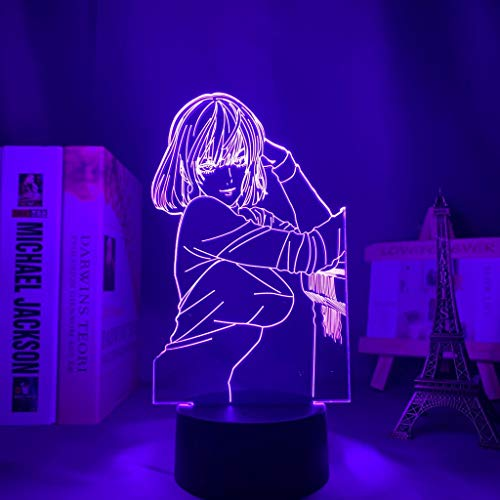 Land of The Lustrous 3D Geschenk Fernbedienung 7 Farben und 16 Farbwechseln, Geburtstag Weihnachts Geschenk für Jungen und Mädchen, Geschenkbox-Paket